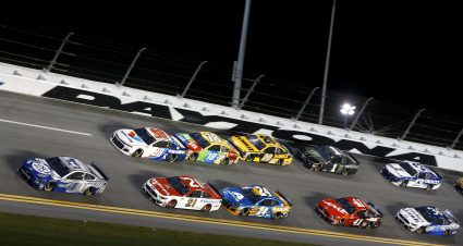 DiBenedetto Has Strong Drive In Duel At Daytona