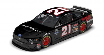 Wood Brothers' NewFordTech.com MustangReady For Twin Bill At Michigan