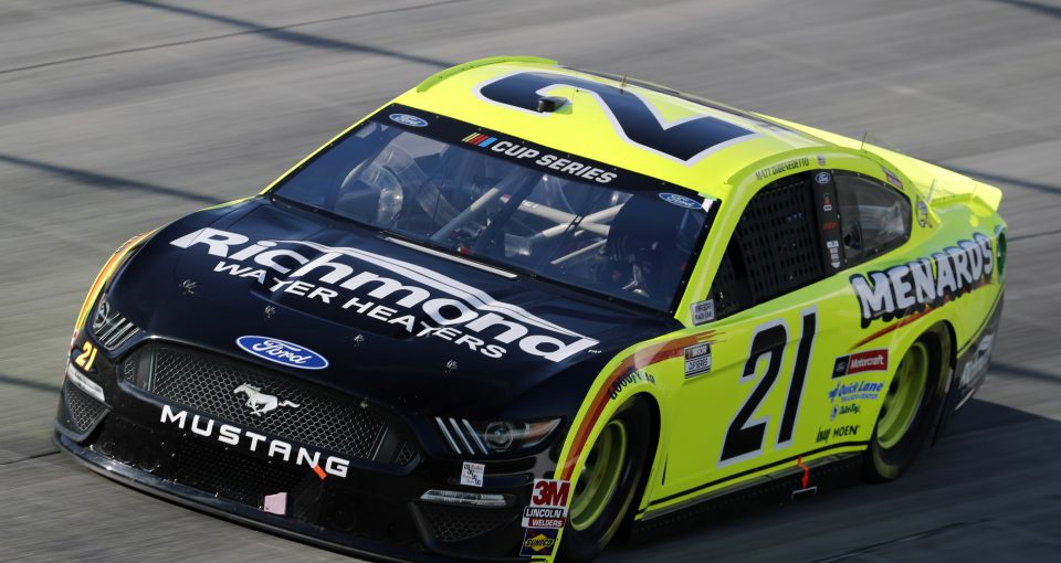 #21: Matt DiBenedetto, Wood Brothers Racing, Ford Mustang Menards/Monster Energy