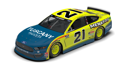 DiBenedetto, Menards/Tuscany Team Hoping To Capitalize on Ford's Speed At Talladega