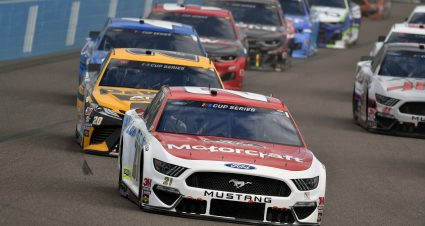 DiBenedetto Moves to 13th in Points With Eighth-Place Finish at Phoenix