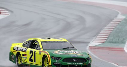 DiBenedetto Finishes 23rd on Wet COTA Track